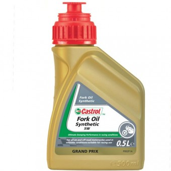 Gabelöl Castrol Synthetic Fork Oil 5W 500 ml