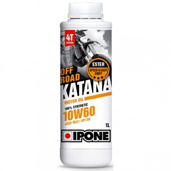Motoröl IPONE Katana Off Road - 10W60 100 % Synthetic - 1 Liter 4T
