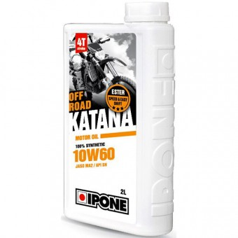 Motoröl IPONE Katana Off Road - 10W60 100 % Synthetic - 2 Liter 4T