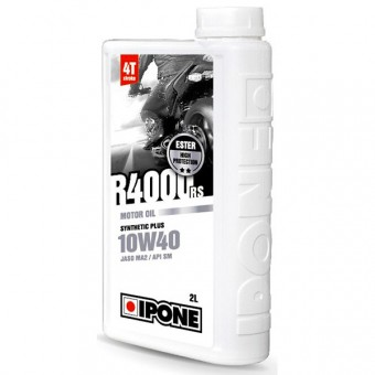 Motoröl IPONE R4000 RS - 10W40 Synthetic Plus - 2 Liter 4T