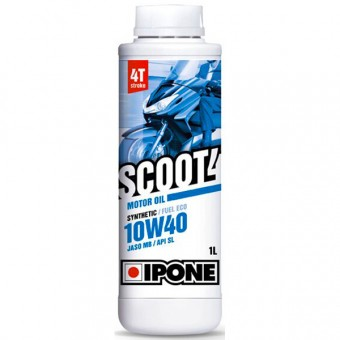 Motoröl IPONE Scoot 4 - 10W40 Synthetic - 1 Liter 4T