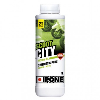 Motoröl IPONE Scoot City - Synthetic Plus - 1 Liter 2T