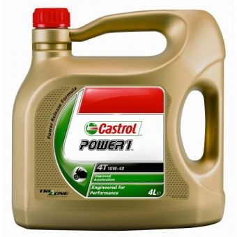 Motoröl Castrol Power 1 Racing 4T 10W-40 4 litre