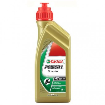 Motoröl Castrol Power 1 Scooter 4T 5W-40 1 litre