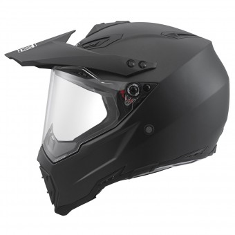 Casque Cross AGV AX-8 Dual Evo Schwarz Matt