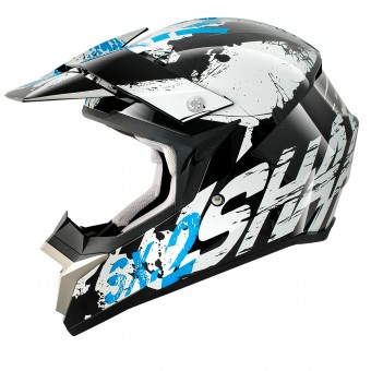 Casque Cross Shark SX2 Freak KWB