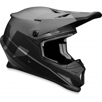 Casque Cross Thor Sector Level Black Grey