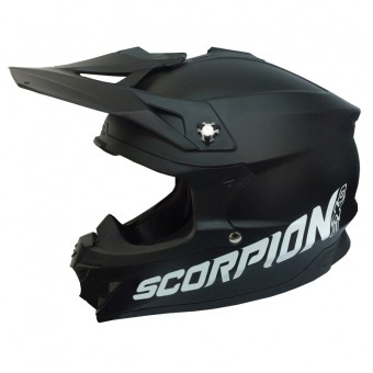 Casque Cross Scorpion VX-15 Evo Air Schwarz Matt