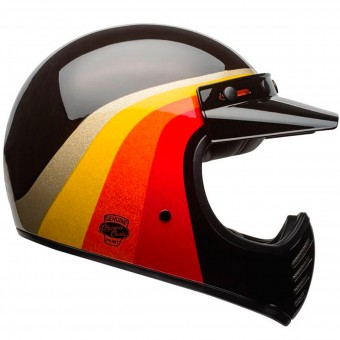 Casque Cross Bell Moto-3 Chemi Candy Black Gold