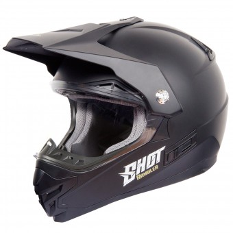 Casque Cross SHOT Rambler Schwarz Matt