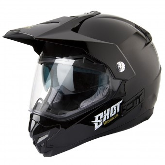 Casque Cross SHOT Rambler Schwarz