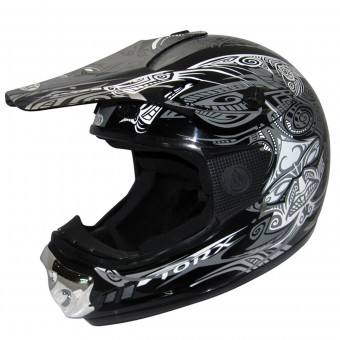 Casque Kinder Torx Peter Gang Maori Black White Enfant