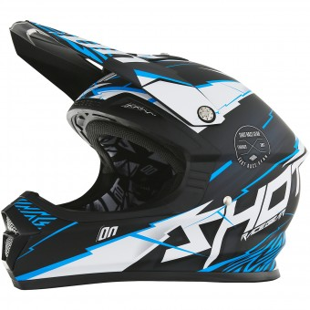 Casque Kinder SHOT Furious Infinity Blue Matt Kinder