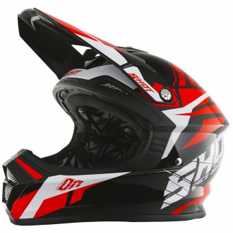 Casque Kinder SHOT Furious Squad Red Kinder