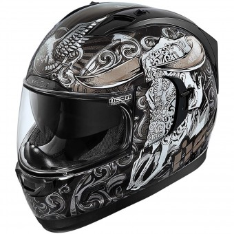 Casque Integral ICON Alliance GT Honcho Black