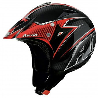 Casque Jet Airoh Evergreen Carbon
