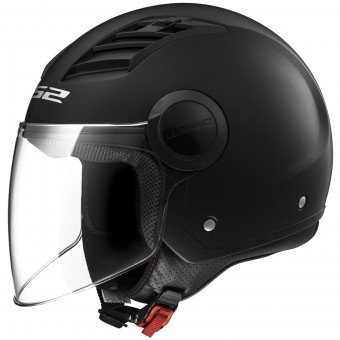 Casque Jet LS2 Airflow Matt Black Long OF562