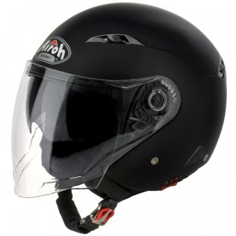 Casque Jet Airoh City One Schwarz Matt