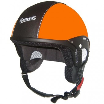 Casque Jet Cromwell Custom Matt Orange