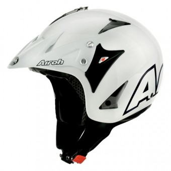 Casque Jet Airoh Evergreen Weiß
