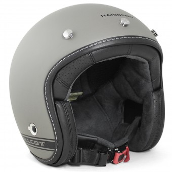 Casque Jet HARISSON Hellcat R Serie Grey Matt Black