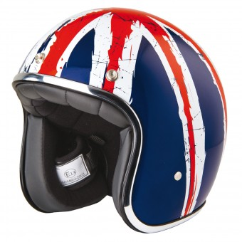 Casque Jet Stormer Pearl Union Jack