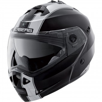 Casque Klapp Caberg Duke II Legend Black White