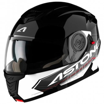 Casque Klapp Astone RT 1200 Touring Black White