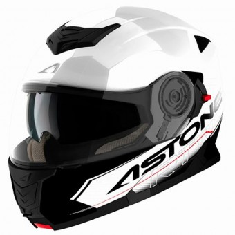 Casque Klapp Astone RT 1200 Touring White Black