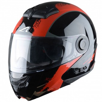 Casque Klapp Astone RT 800 Venom Black Red