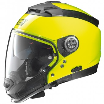 Casque System Nolan N44 Evo Hi-Visibility N-Com Fluo Yellow 12