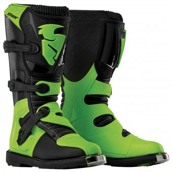 Cross Stiefel Thor Blitz Black Green - Kinder