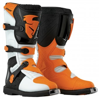 Cross Stiefel Thor Blitz Black White Orange - Kinder