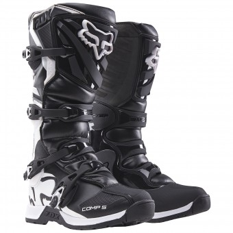Cross Stiefel FOX Comp 5Y Black 001- Kinder