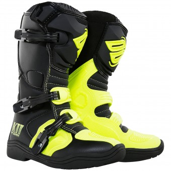 Cross Stiefel SHOT K11 Neon Yellow - Kinder