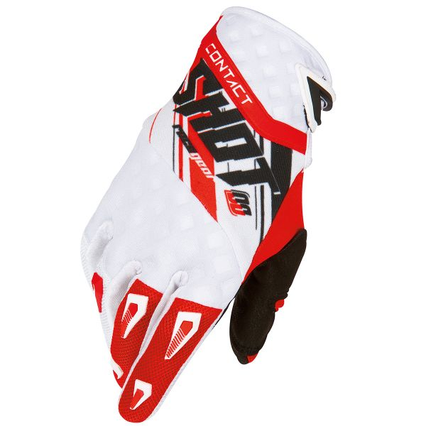 Cross Handschuhe SHOT Contact Genesis Red Black