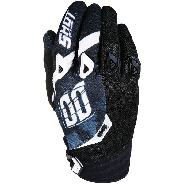 Cross Handschuhe SHOT Devo Squad Black White