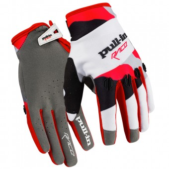 Cross Handschuhe pull-in Fighter Camo White Red