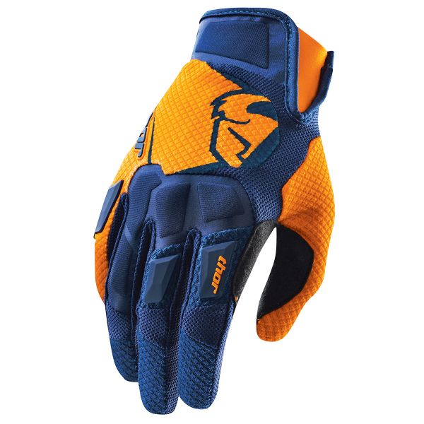 Cross Handschuhe Thor Flow Navy Orange