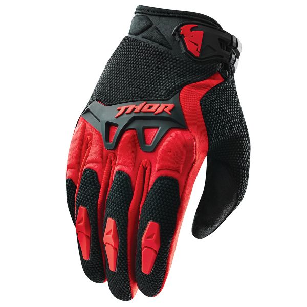 Cross Handschuhe Thor Spectrum Rot