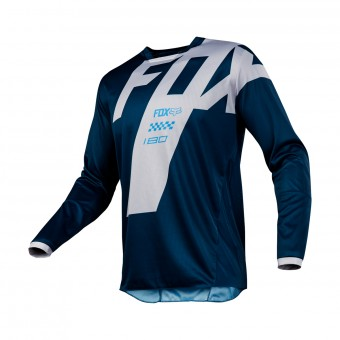 Cross Trikot FOX 180 Master Navy 007