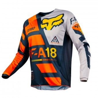 Cross Trikot FOX 180 Sayak Orange 008