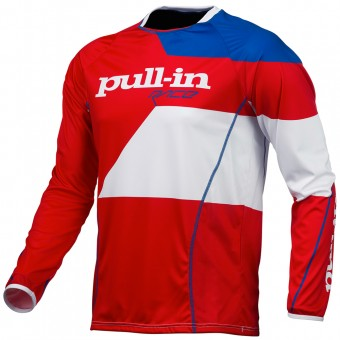 Cross Trikot pull-in Fighter Blue White Red