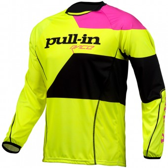 Cross Trikot pull-in Fighter Neon Yellow Pink