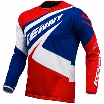 Cross Trikot Kenny Trial Up Blue White Red