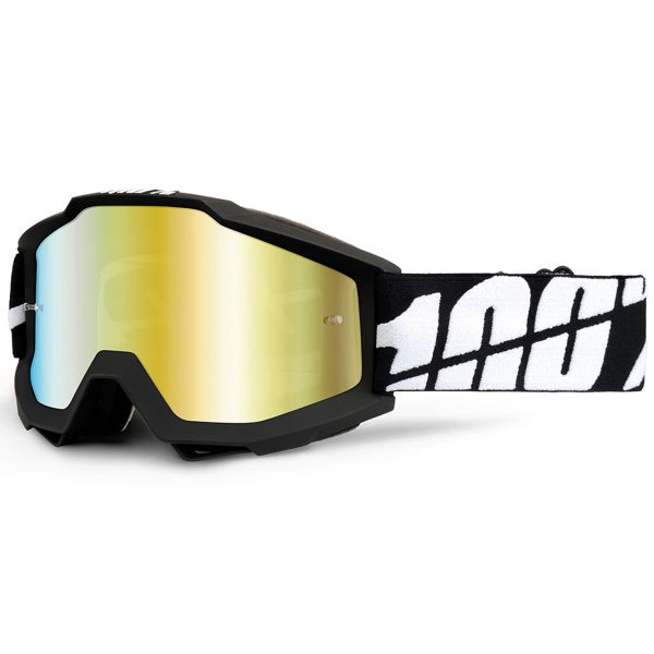 Crossbrille 100% Accuri Black Tornado