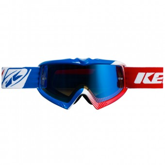 Crossbrille Kenny Performance Blue White Red Kid