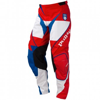 Cross Hose pull-in Fighter Blue White Red Pant