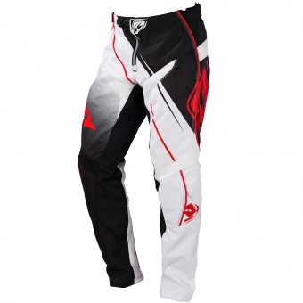 Cross Hose Kenny Track Black White Red Pant