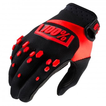 Cross Handschuhe 100% Airmatic Black Red